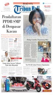Tribun Bali Cover 25 June 2019