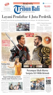 Cover Tribun Bali 26 Juni 2019