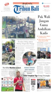 Tribun Bali Cover 02 July 2019