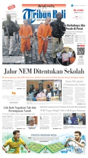 Tribun Bali Cover 03 July 2019