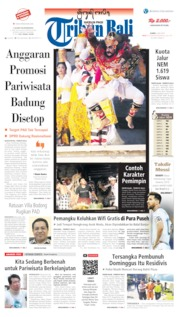 Tribun Bali Cover 04 July 2019