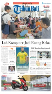 Tribun Bali Cover 07 July 2019
