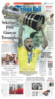 Tribun Bali Cover 09 July 2019