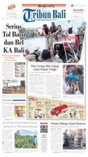 Tribun Bali Cover 10 July 2019