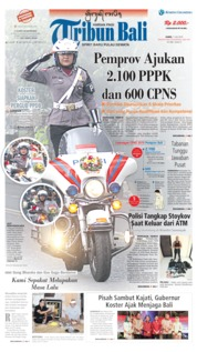 Tribun Bali Cover 11 July 2019
