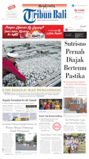 Tribun Bali Cover 16 July 2019