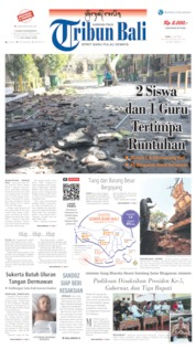 Tribun Bali Cover 17 July 2019