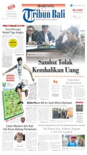 Cover Tribun Bali 18 Juli 2019