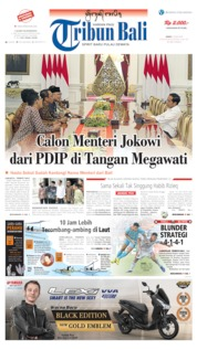 Tribun Bali Cover 19 July 2019