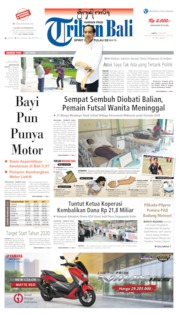 Tribun Bali Cover 20 July 2019