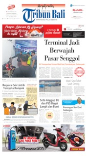Tribun Bali Cover 22 July 2019