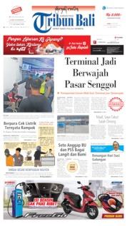 Cover Tribun Bali 22 Juli 2019