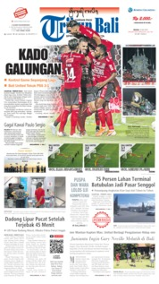 Tribun Bali Cover 23 July 2019