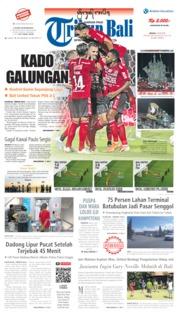 Cover Tribun Bali 23 Juli 2019