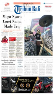Tribun Bali Cover 11 August 2019