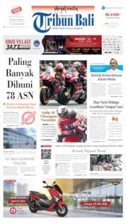 Tribun Bali Cover 12 August 2019