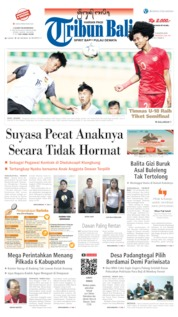 Tribun Bali Cover 13 August 2019