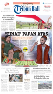 Tribun Bali Cover 15 August 2019