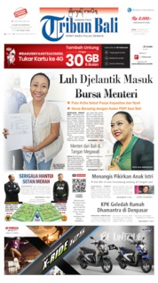 Tribun Bali Cover 19 August 2019
