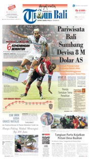 Cover Tribun Bali 21 Agustus 2019