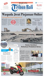 Tribun Bali Cover 26 August 2019