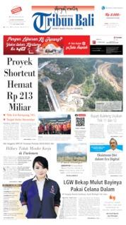 Tribun Bali Cover 02 September 2019