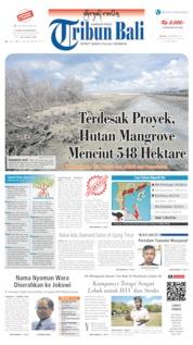 Tribun Bali Cover 03 September 2019