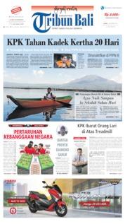 Tribun Bali Cover 05 September 2019