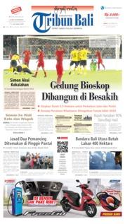 Tribun Bali Cover 06 September 2019