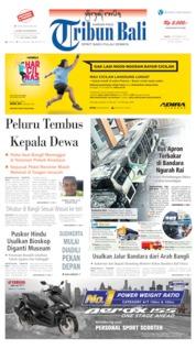 Tribun Bali Cover 07 September 2019