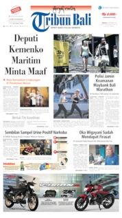 Tribun Bali Cover 08 September 2019