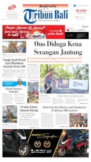 Tribun Bali Cover 09 September 2019