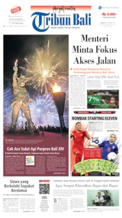 Tribun Bali Cover 10 September 2019
