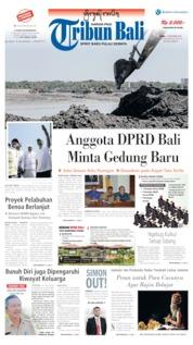 Tribun Bali Cover 11 September 2019