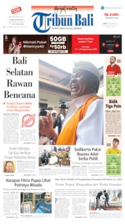Tribun Bali Cover 17 September 2019