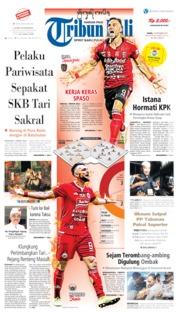 Cover Tribun Bali 19 September 2019