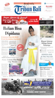 Cover Tribun Bali 23 September 2019