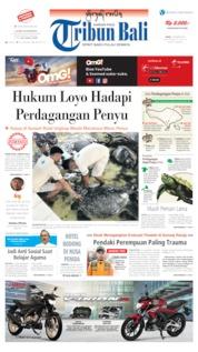 Tribun Bali Cover 07 October 2019