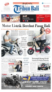 Tribun Bali Cover 14 October 2019
