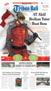 Tribun Bali Cover 15 October 2019