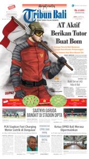 Cover Tribun Bali 15 Oktober 2019