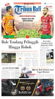 Cover Tribun Bali 18 Oktober 2019