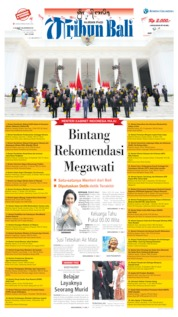 Tribun Bali Cover 24 October 2019