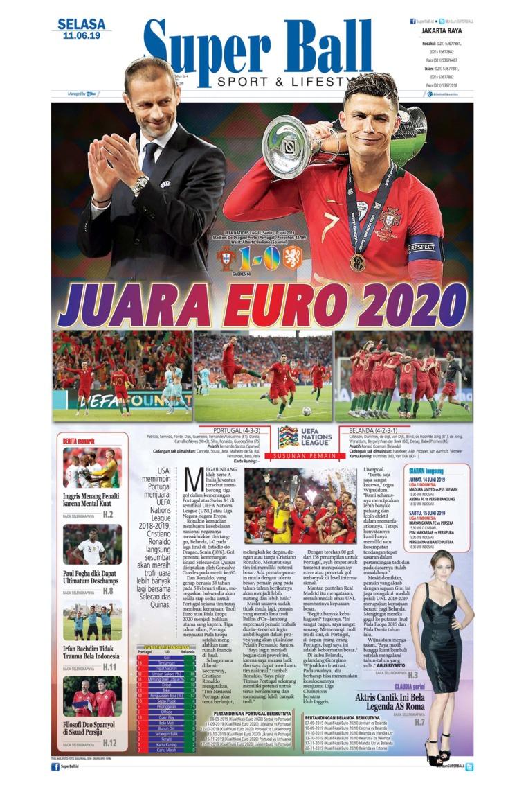 Superball Digital Newspaper 11 June 2019