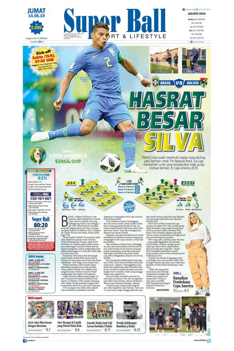 Superball Digital Newspaper 14 June 2019