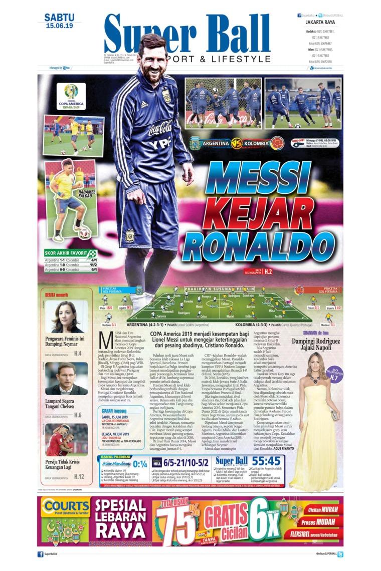 Superball Digital Newspaper 15 June 2019