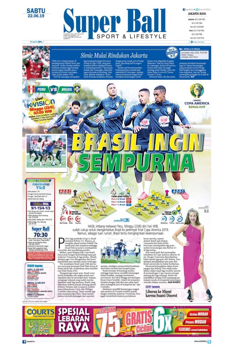 Koran Digital Superball 22 Juni 2019