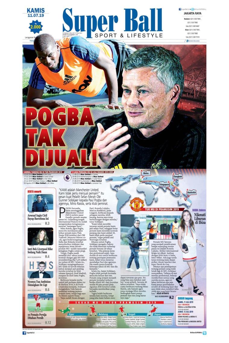 Superball Digital Newspaper 11 July 2019