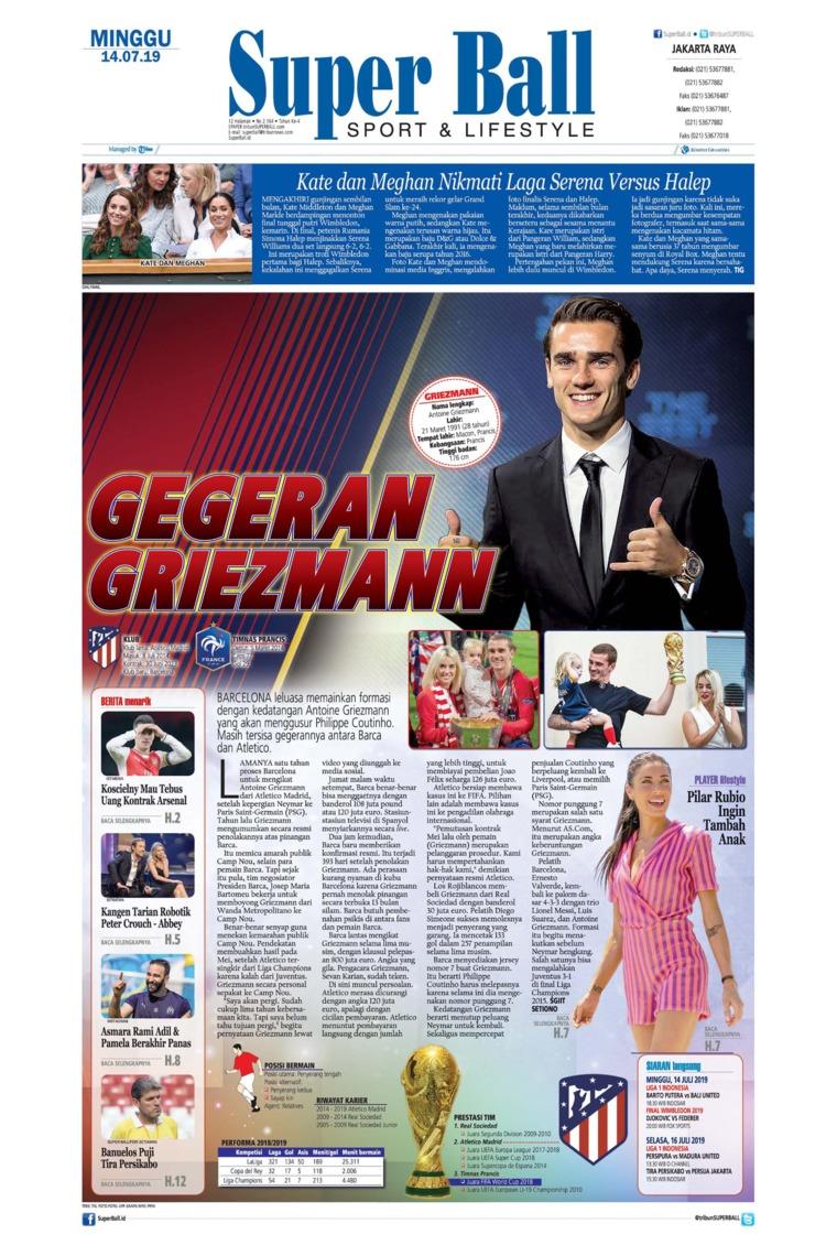 Superball Digital Newspaper 14 July 2019