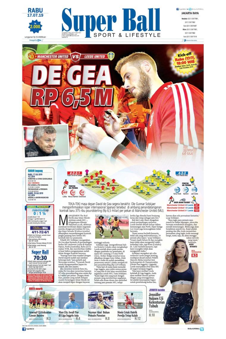 Superball Digital Newspaper 17 July 2019